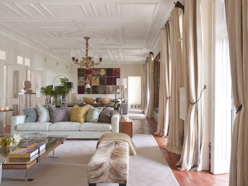 Una casa de campo exquisitamente chic chic country house - Casas decoradas con gusto ...