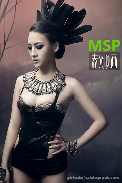 8 Qian Zheng Qiu- MSP star plan-very cute asian girl-girlcute4u.blogspot.com