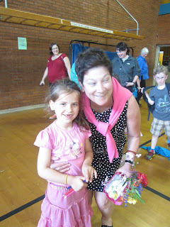 MiaRose and her Kindergarten teacher
