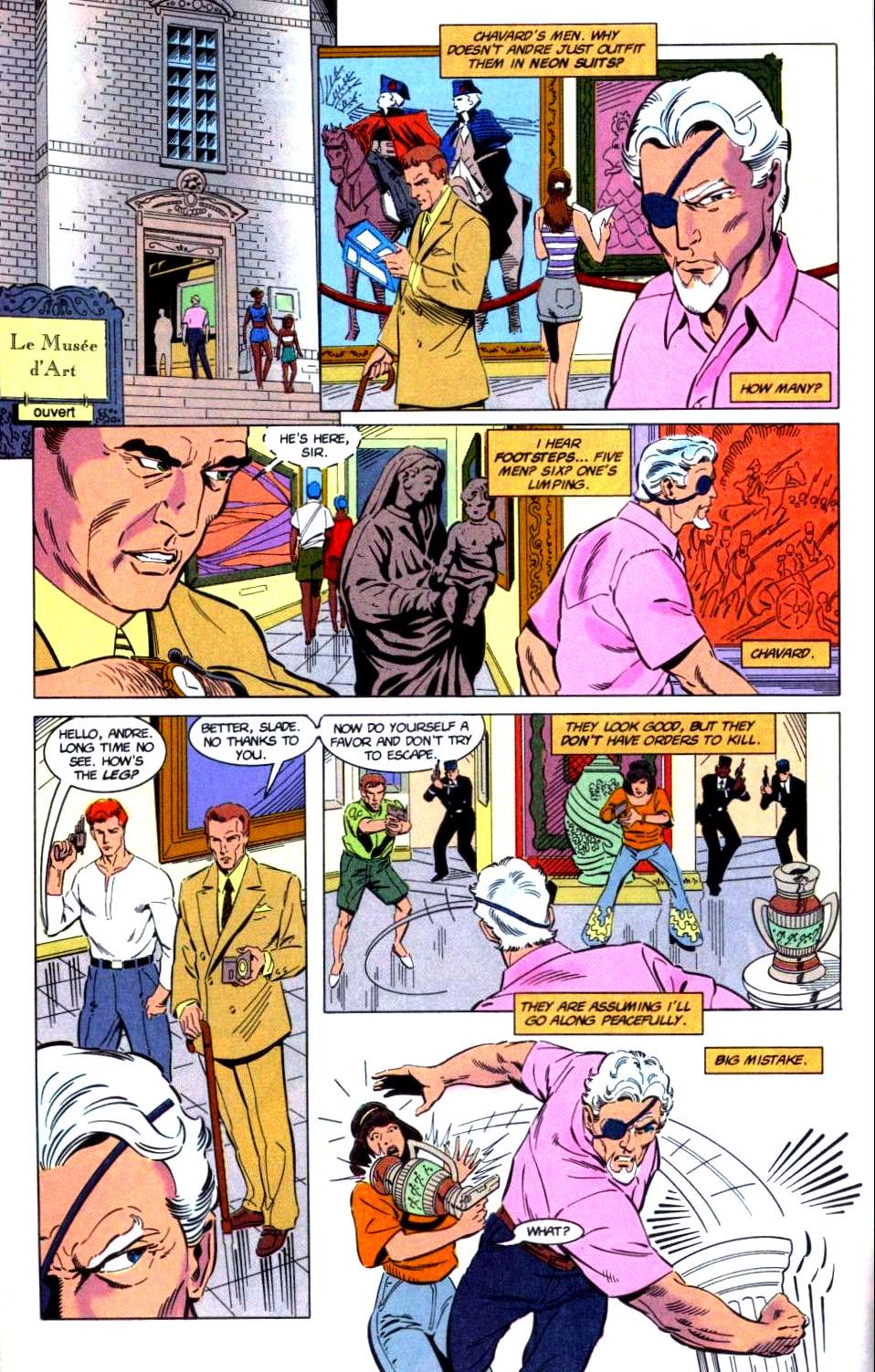 Deathstroke (1991) Issue #32 #37 - English 8