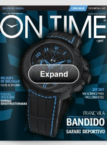 revista de relojes on time P-2013