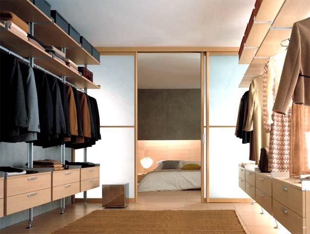 Walk in closet modernos azdeco for Banos modernos con walking closet