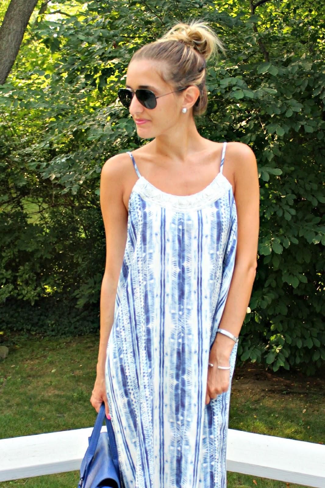 aqua brand tie dye dress
