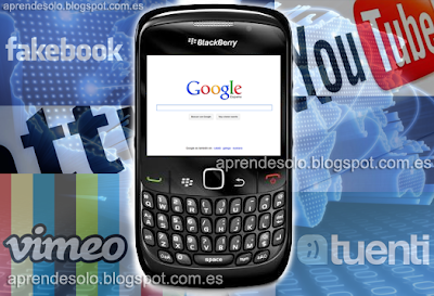 Configurar internet móvil en Blackberry