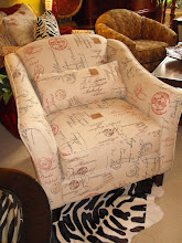 Postal Print Chair
