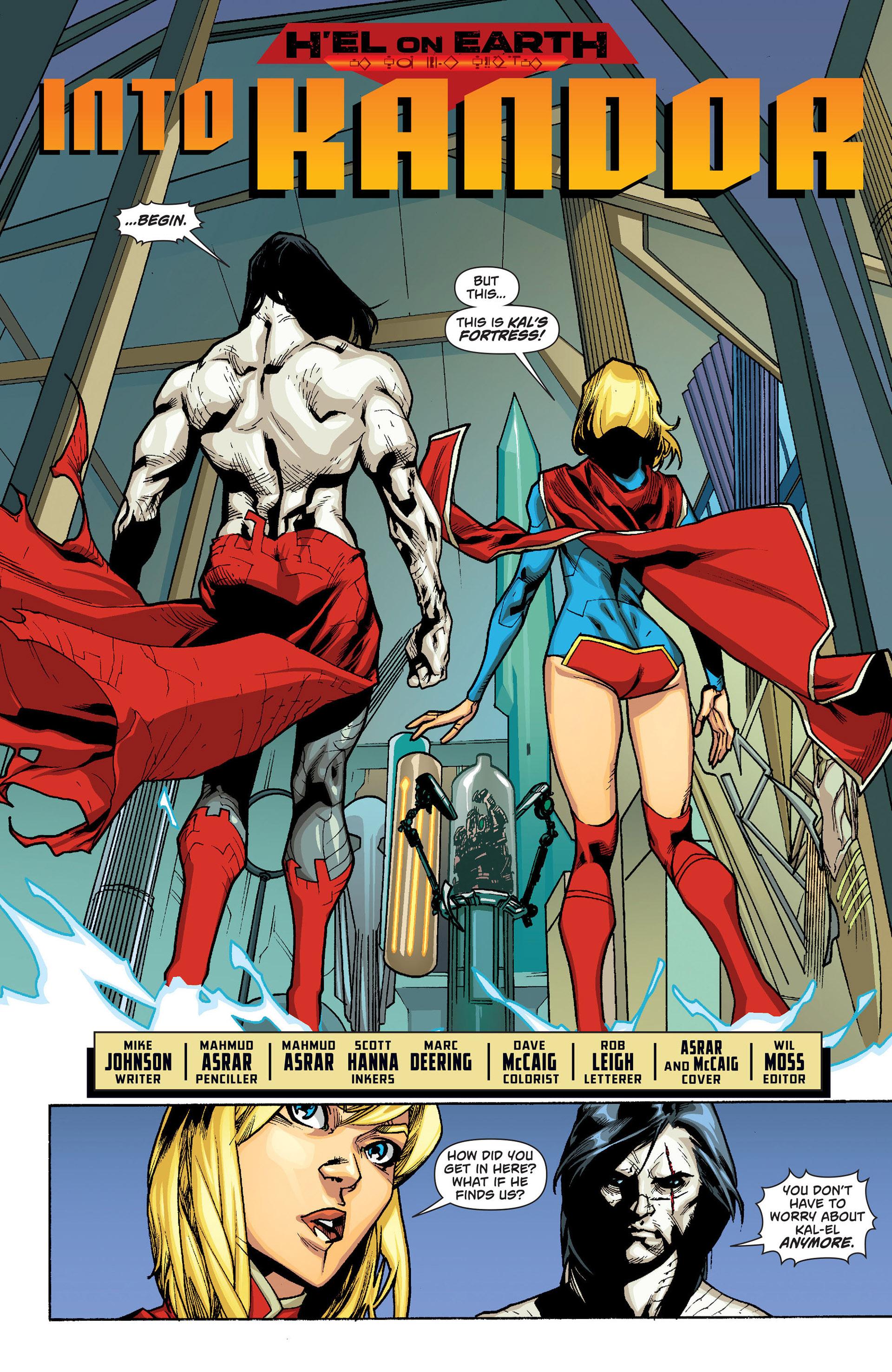 Supergirl (2011) Issue #15 #17 - English 7