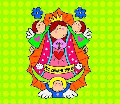 CIBER BURBUJA: Virgen de Guadalupe
