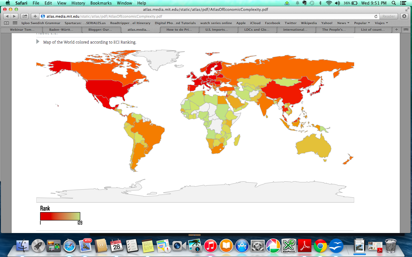 below you can see the world map colored with the economic complexity index eci ranking the most red colored countries have a higher economic complexity