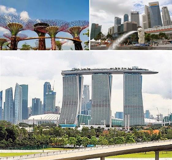 tiba di Singapore setelah Singapura 2 Hari