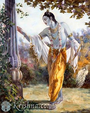 Uddhava - Krishnas messenger