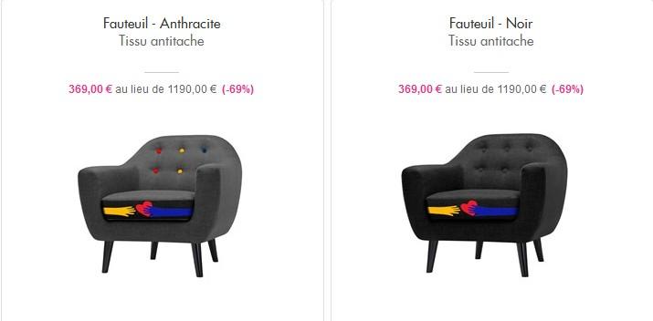 Top Castelbajac mobilier - Showroomprivé - La Selection de Zoe UA53