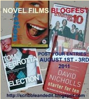 Novel to Films Blogfest