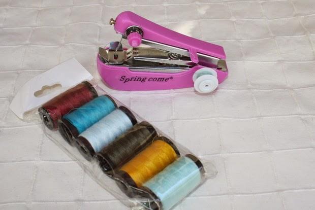 maquina coser bolso