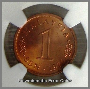 1970 One Cent Copper Coin