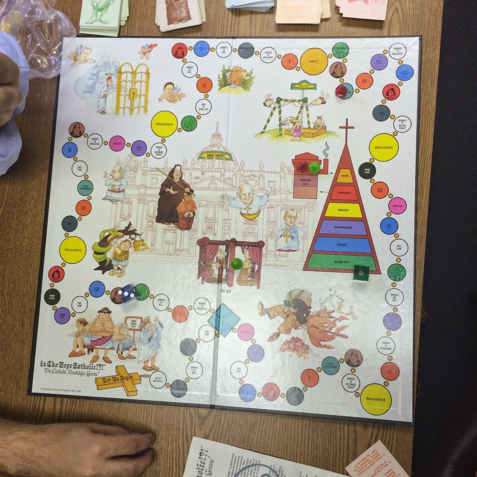 Catholic board games