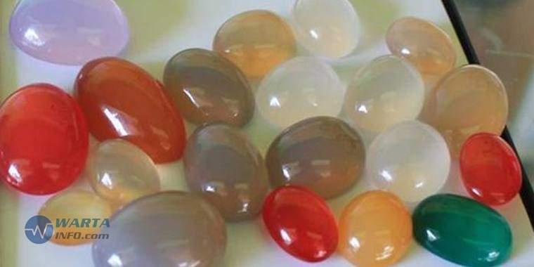 Foto gambar batu Kalsedon batu mulia terbaik paling termahal dan populer
