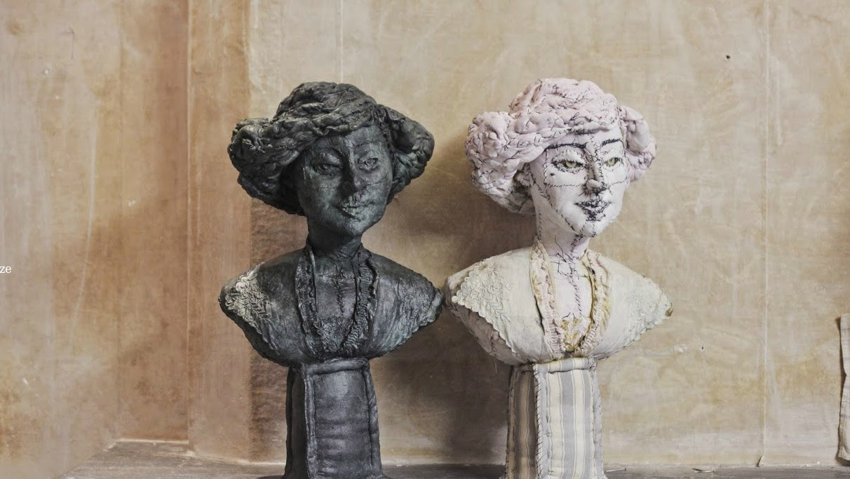 Sculptures in Fabric by anne valerie dupond