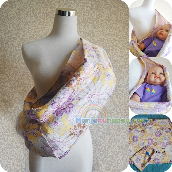 how to make a baby pouch sling
