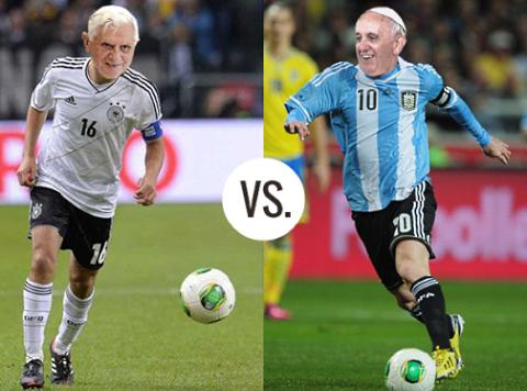 Meme mundialista : Final del mundial Brasil 2014