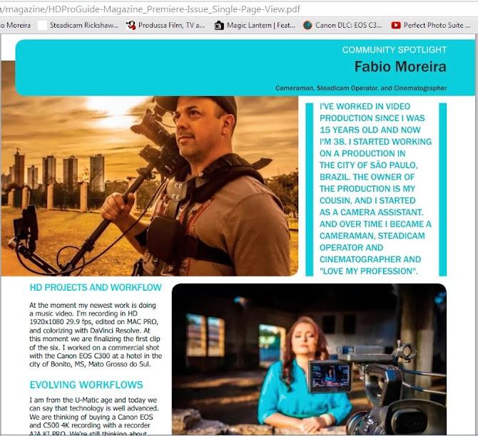 Reportagem matéria revista ProGride