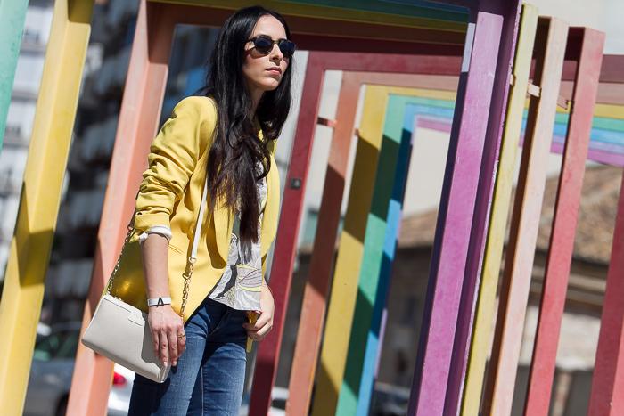 Blogger de moda en Valencia estilo casual chic