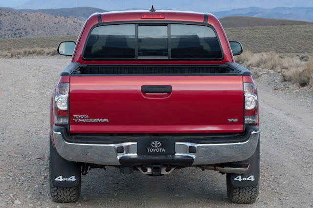 2015 New Toyota Tacoma Edition back view