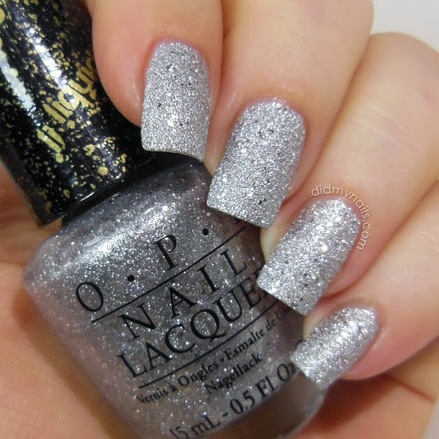 OPI It's Frosty Outside swatch