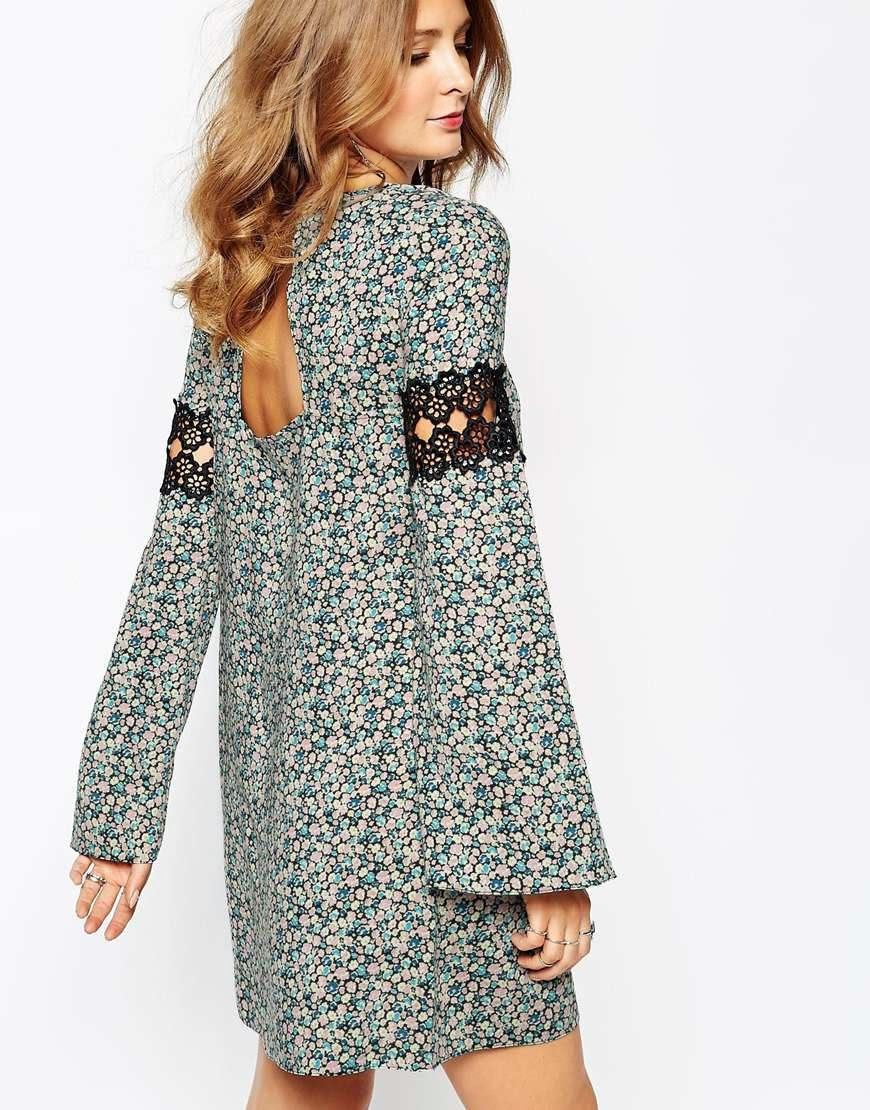 millie mackintosh floral print dress
