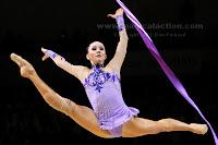 Liubov Charkashyna legs