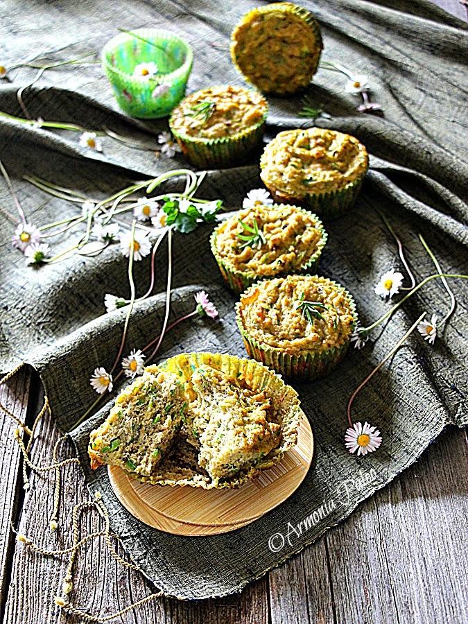 Muffins con Sgombro e Zucchine di Armonia Paleo