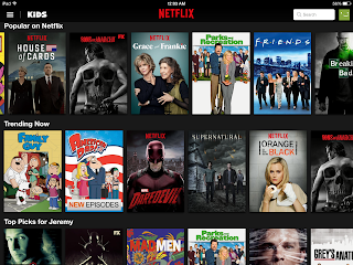 Netflix programming