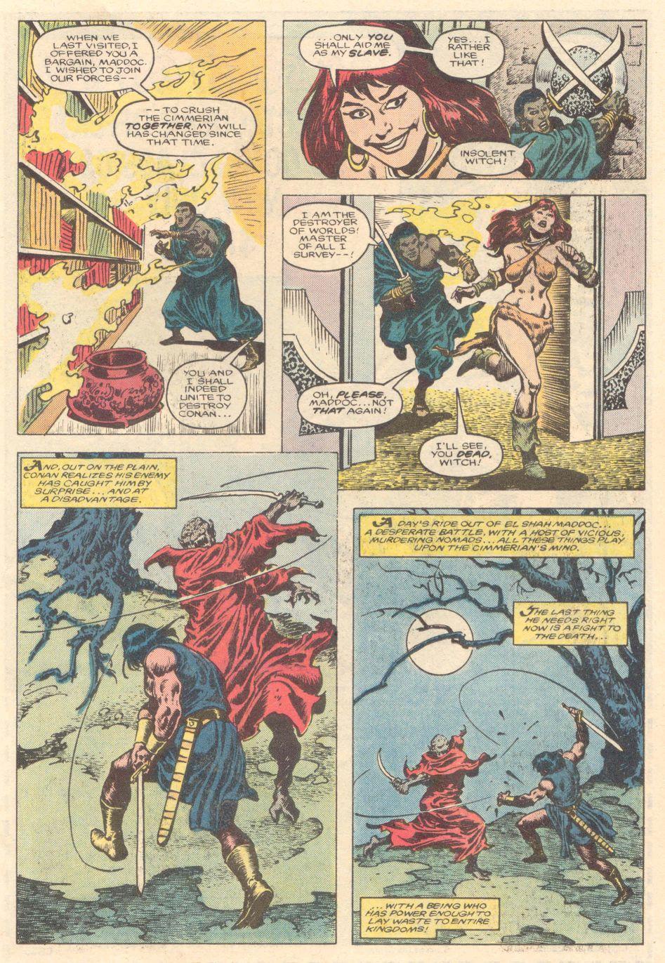 Conan the Barbarian (1970) Issue #183 #195 - English 8