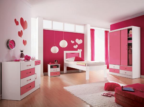 decoracao rosa para quarto de menina 14 Decoração de quarto rosa