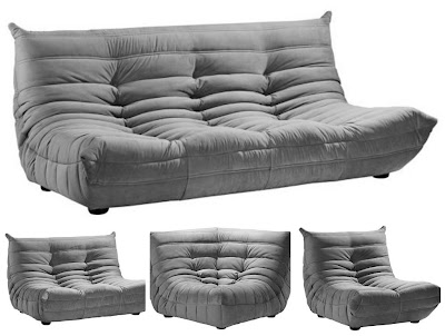 Euro Style Lighting Sofa