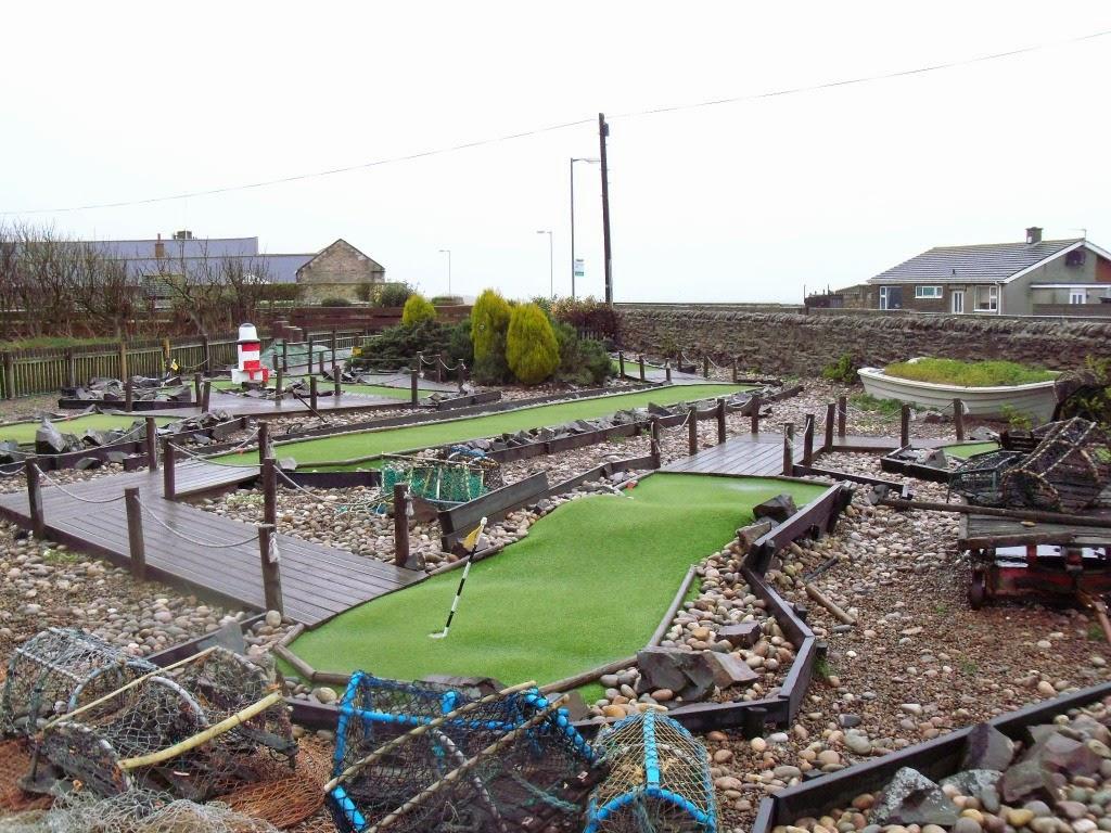Seahouses Crazy Golf