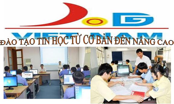 đào tạo tin học văn phòng, đồ họa, quản trị mạng,lập trình