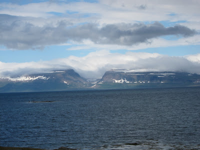 Fjords around Isafjordur, Iceland
