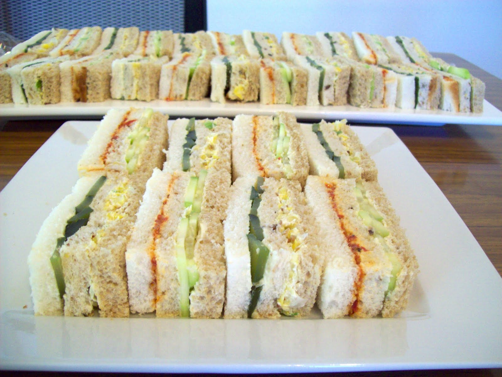 The vegan apprentice club sandwiches for Club sandwich fillings for high tea