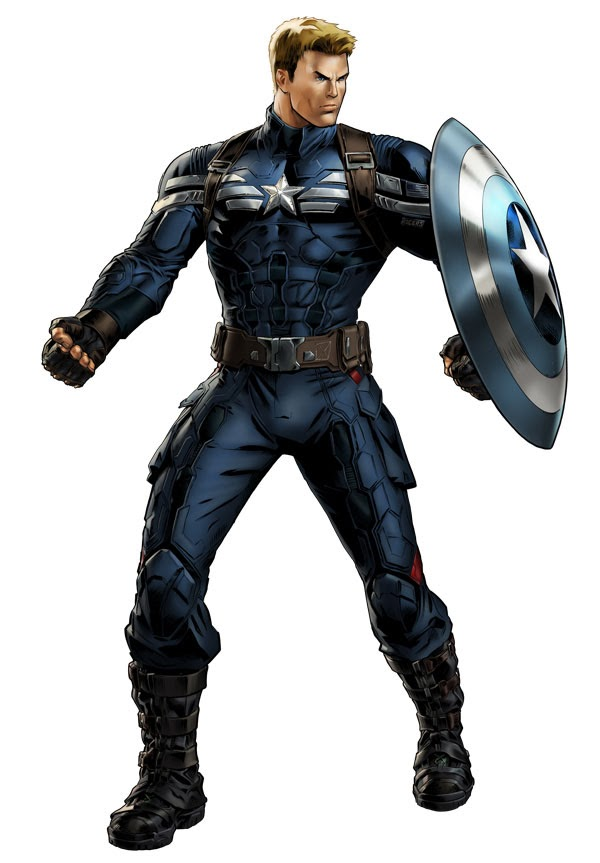 Captain America New Uniform
