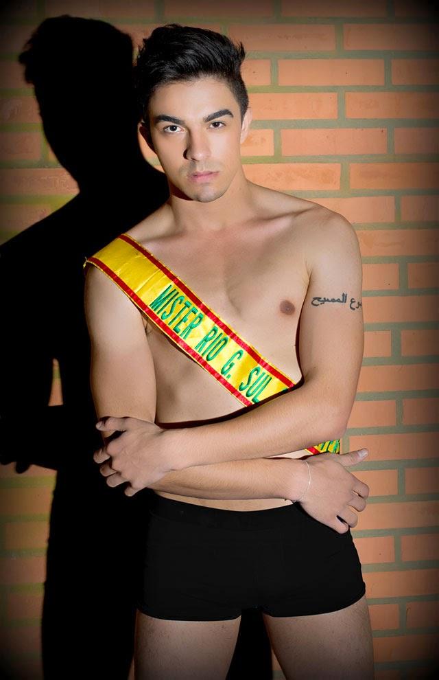 Vagner de Oliveira, o Mister Rio Grande do Sul Universo 2012. Foto: Jeferson Paz