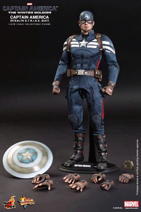 MMS - CAPTAIN AMERICA: THE WINTER SOLDIER - CAPTAIN AMERICA & STEVE