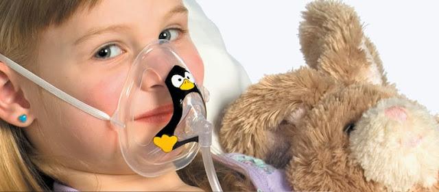Oxigenoterapia en niños