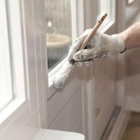 Malowanie okien PCV i drewnianych - farby Śnieżka