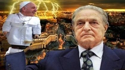 Bergoglio trabaja para servir a Soros y no para servir a  Dios.