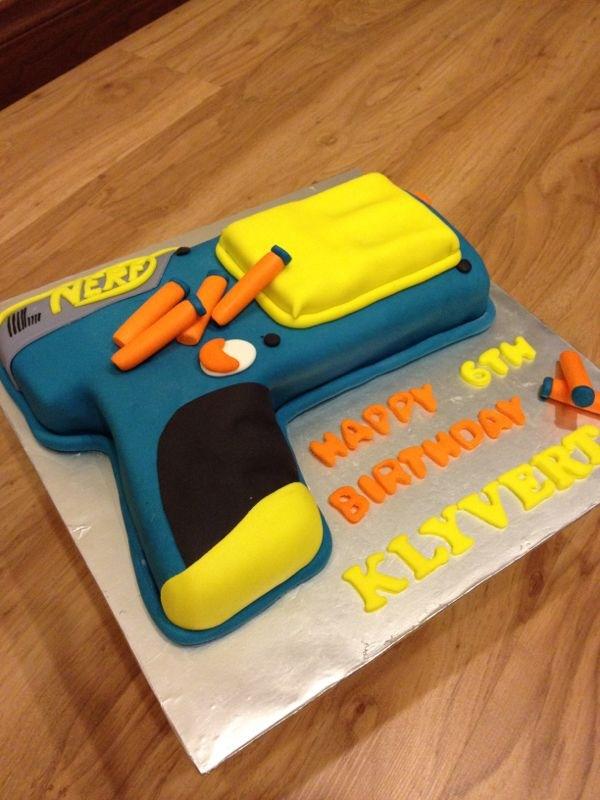 Nerf Gun Cakes Cake Ideas And Designs