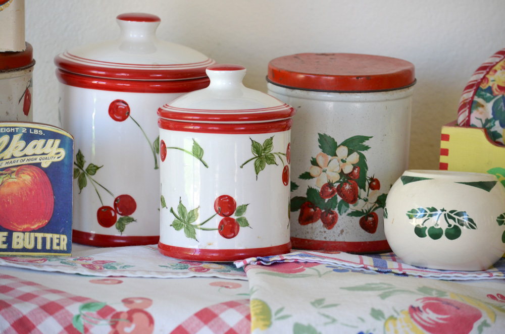 Delightful Cherry Themed Ceramic Canisters Are From Target