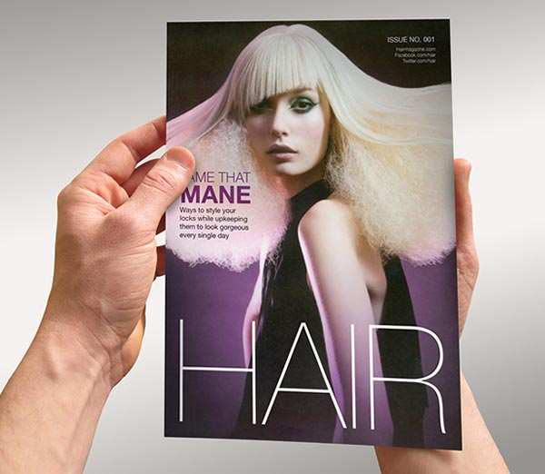 Salon Brochure Design