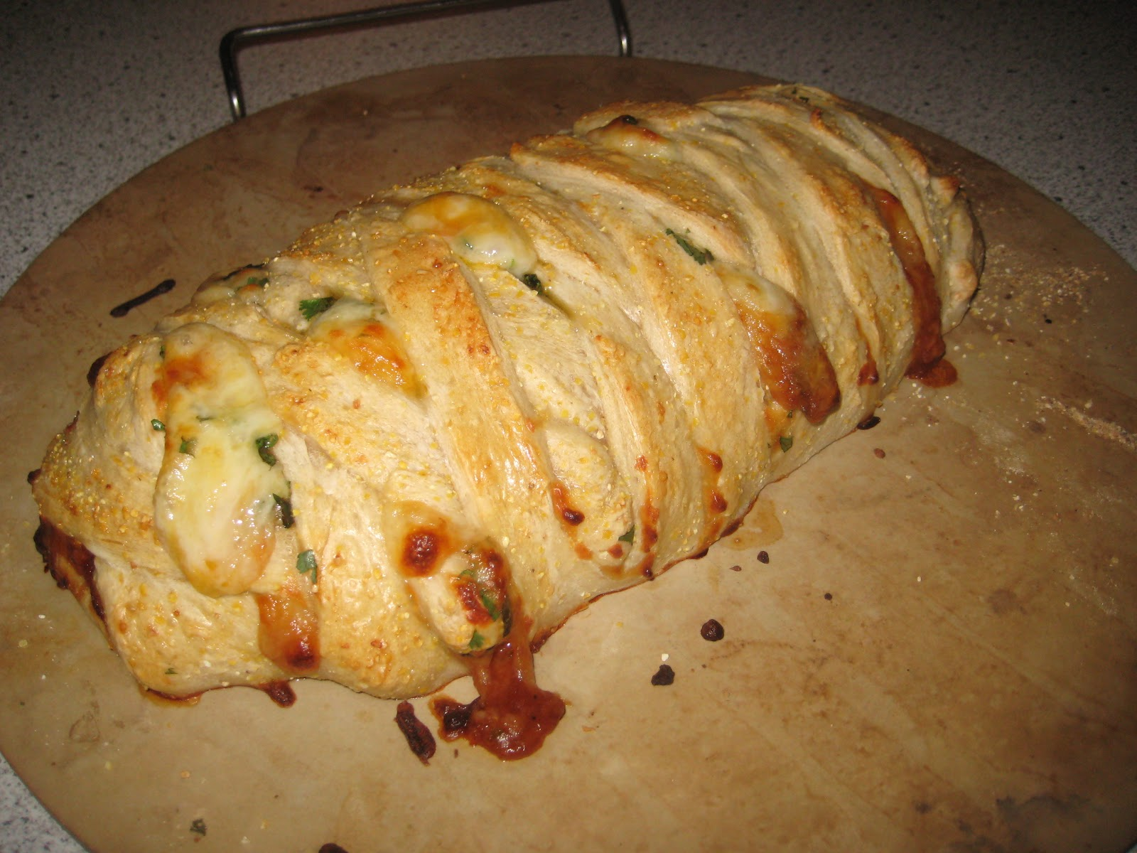 BBQ Chicken Calzones Recipe — Dishmaps