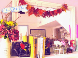 Autumn mantle decorating