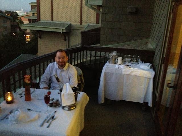 The Sixth Floor Balcony Sweetheart Dinner at Disney's Grand Californian Hotel